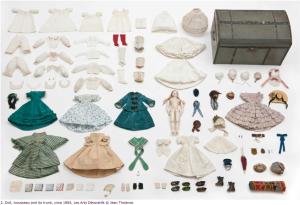 doll trousseau Louis+Vuitton+1865+Doll+trousseau