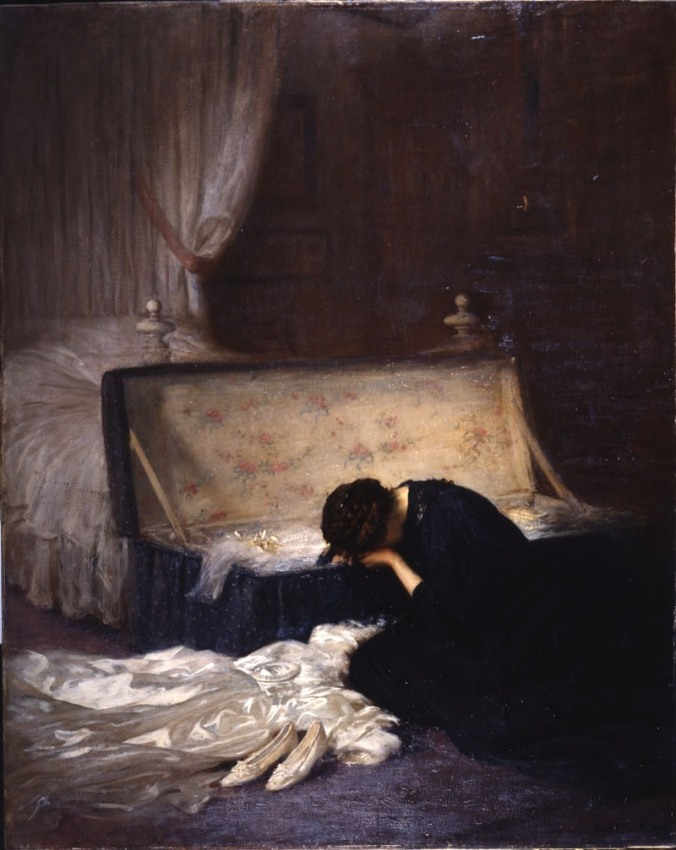 frederick elwell, the wedding dress